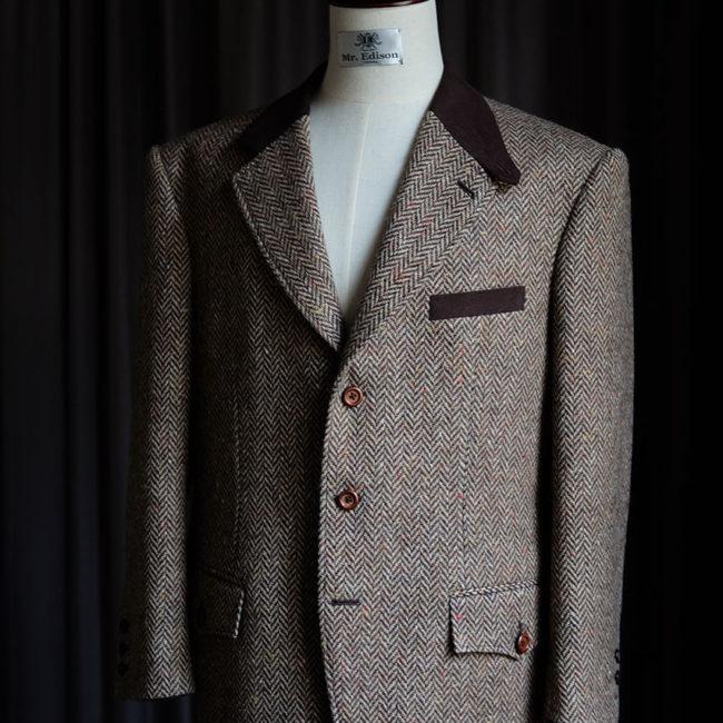 W.Bill 訂製作品 - Mr.Edison Suit 愛迪生訂製西服