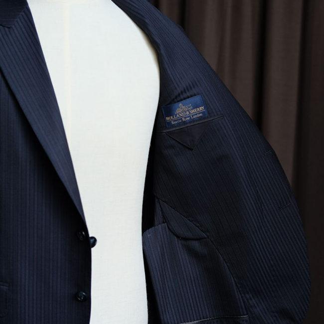 Holland & Sherry 訂製作品 - Mr.Edison Suit 愛迪生訂製西服