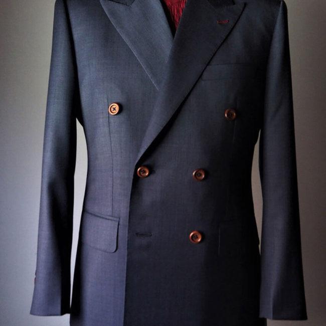 Huddersfield 訂製作品 - Mr.Edison Suit 愛迪生訂製西服