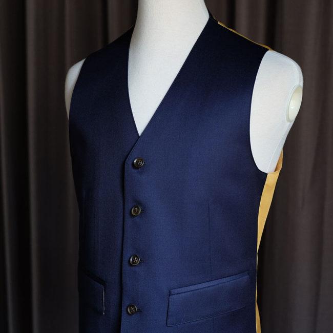 Dormeuil 訂製作品 - Mr.Edison Suit 愛迪生訂製西服