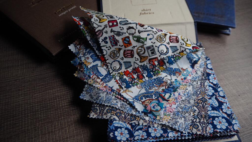 《西裝知識》Caccioppoli 2018 A/W Fabric