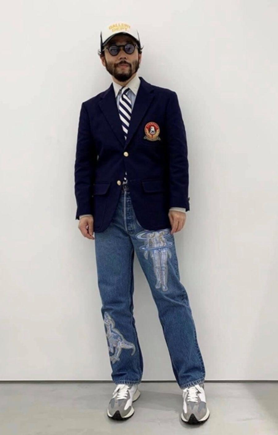 『台中西裝訂做推薦』Mr. Edison suit 愛迪生訂製西裝-把西裝結合休閒服裝