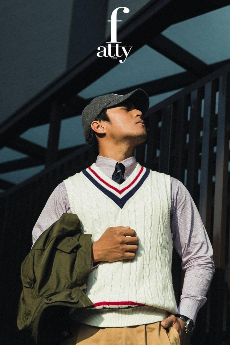 『台中/桃園/新竹西裝』Mr. Edison suit 愛迪生訂製西裝-西裝怎麼搭配棒球帽?